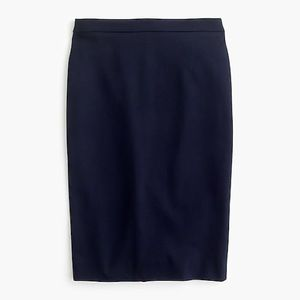 NWT J Crew black skirt